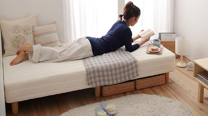 この「ショート丈・小型コンパクトマットレスベッド」は、日本紡績検査協会いわゆるボーケンの厳しい検査に合格していますので、安心してお使いいただけます。