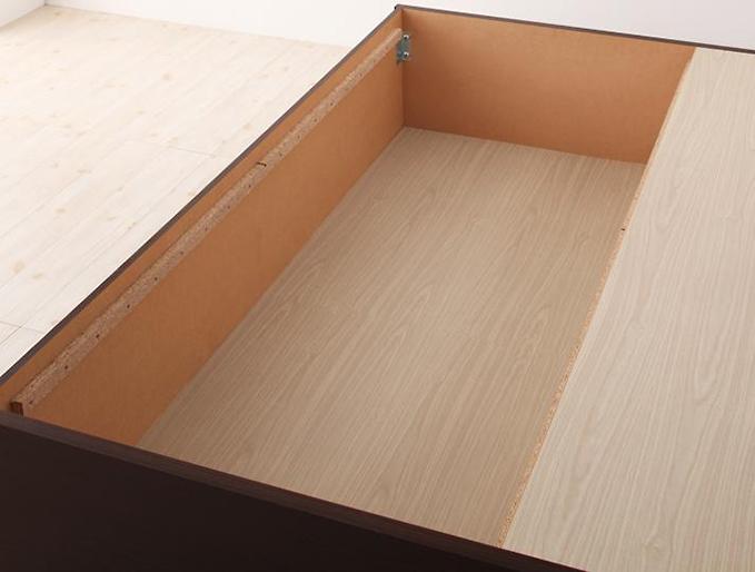 長物収納部の底板
