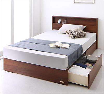 人気第10位!確かな品質!国産フランスベッド社製引き出し収納ベッド【CRP】